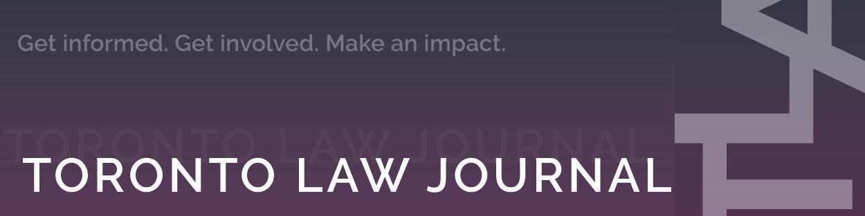 Toronto Law Journal